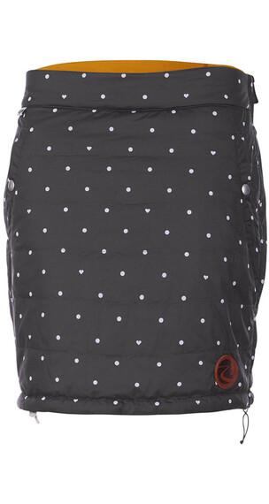 Maloja MetolinsM. Reversible Primaloft Skirt Women charcoal multi